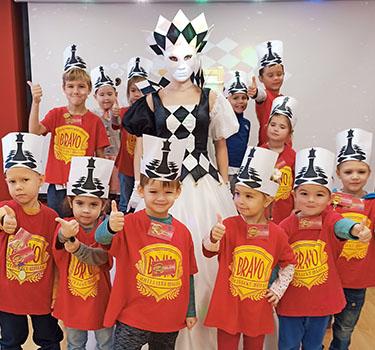 Торжественная церемония «Посвящение в шахматисты»